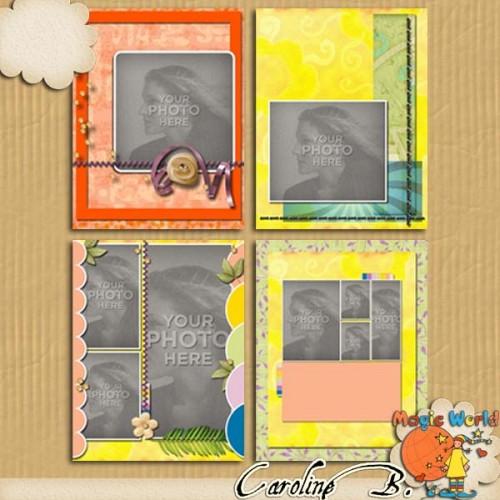 1, 2, 3… 11×8 Album 2 for MyMemoriesSuite / 1, 2, 3… 11×8 Album 2 pour MyMemoriesSuite