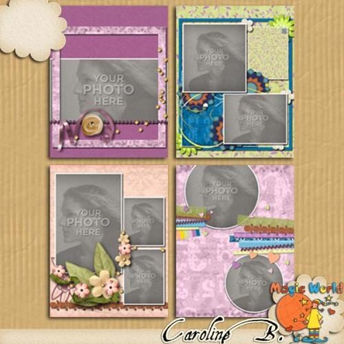1, 2, 3… 11×8 Album 3 for MyMemoriesSuite / 1, 2, 3… 11×8 Album 3 pour MyMemoriesSuite