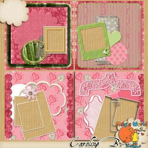 Friendship 12×12 QPs Album 5