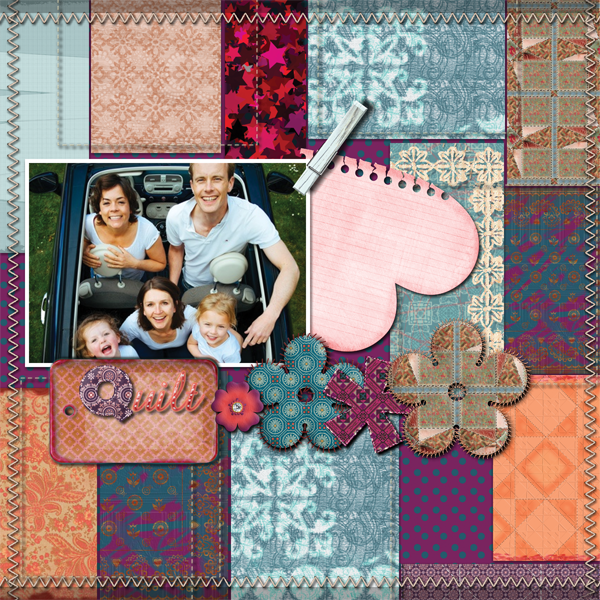 Quilted Blessing 12x12 Alb1-006