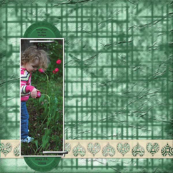 SCRAPDISH_#BansGran _Teeghan in the tulipes