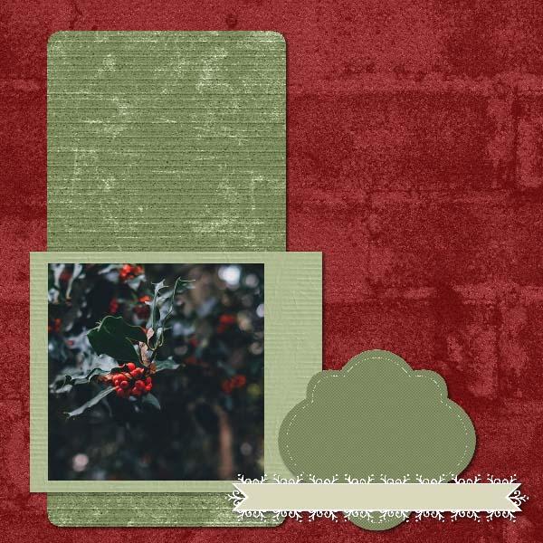 Christmas Heritage 12x12 PB-012