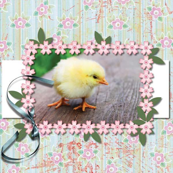 Easter Hoppity 12x12 Album 1-001
