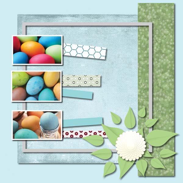 Easter Hoppity 12x12 Album 1-002