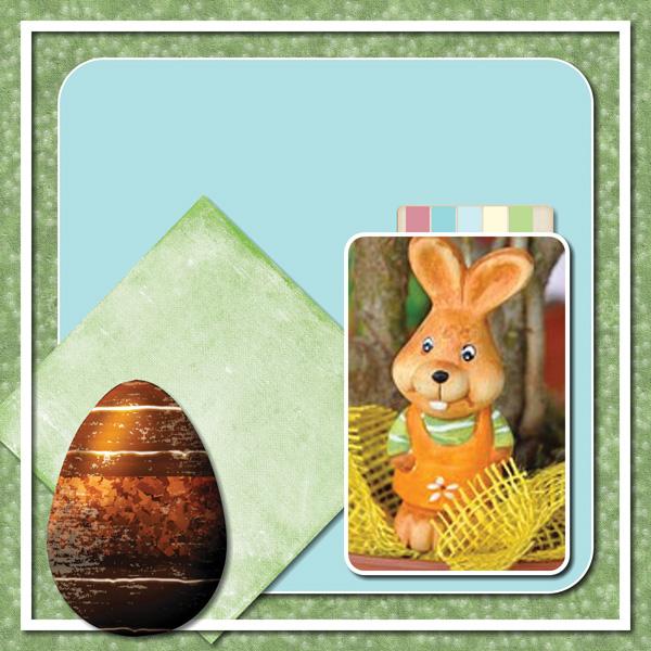 Easter Hoppity 12x12 Album 3-003