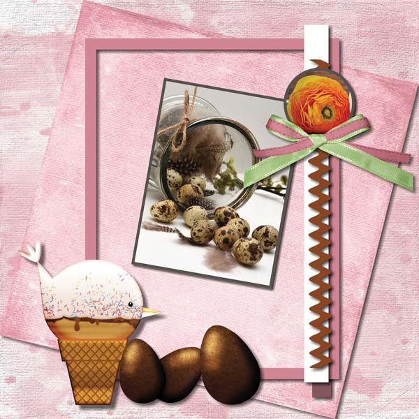 Easter Hoppity 12x12 Album 4-001