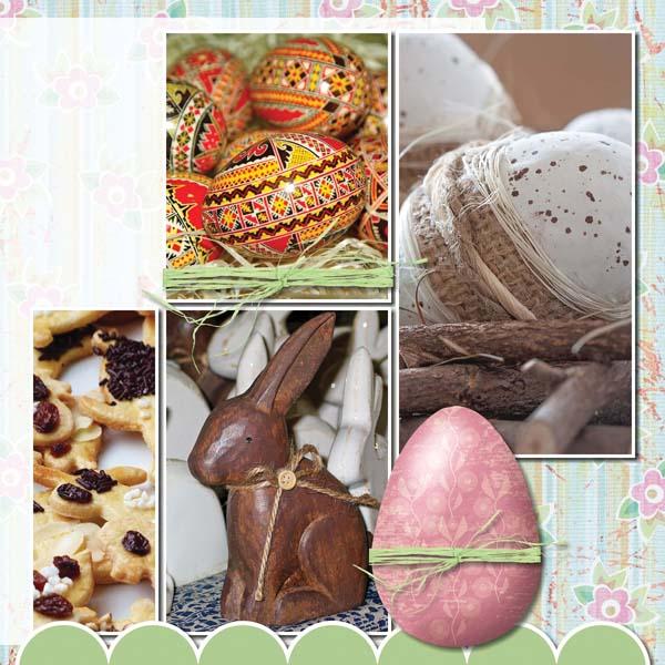 Easter Hoppity 12x12 Album 4-002