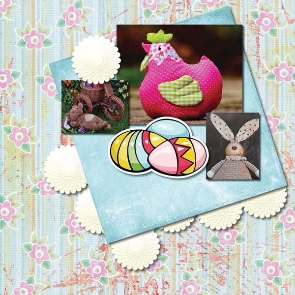 Easter Hoppity 12x12 Album 4-003