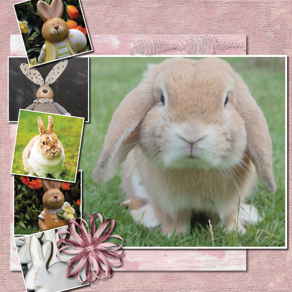 Easter Hoppity 12x12 Album 4-004