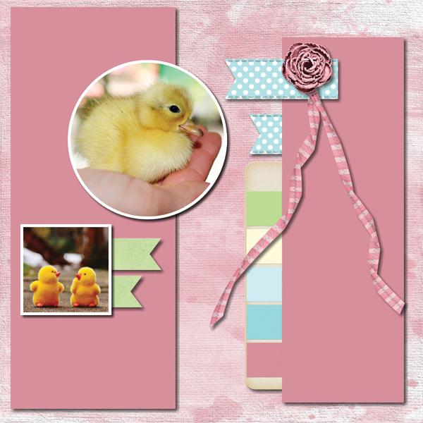 Easter Hoppity 12x12 Album 5-001