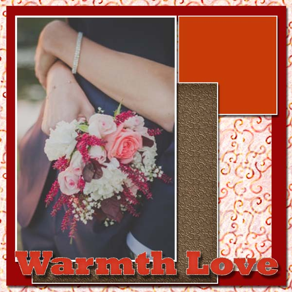 Warmth Love 12x12 PB-001
