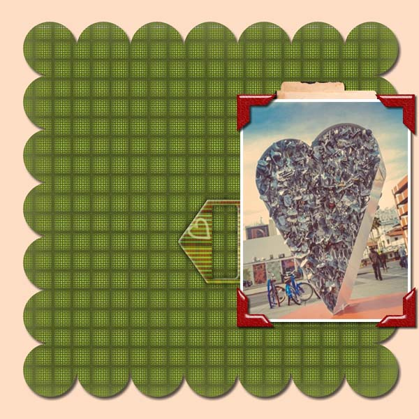 Warmth Love 12x12 PB-006