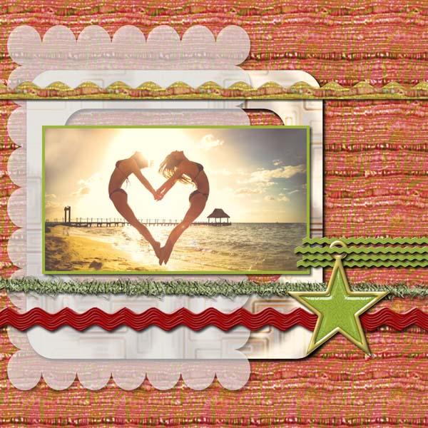 Warmth Love 12x12 PB-007