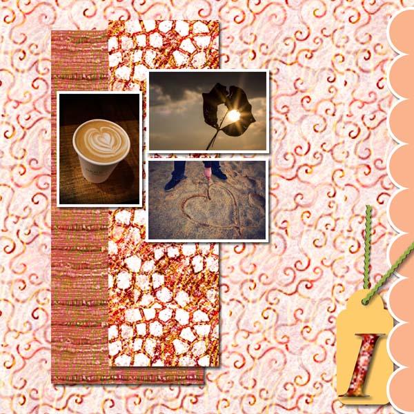 Warmth Love 12x12 PB-011