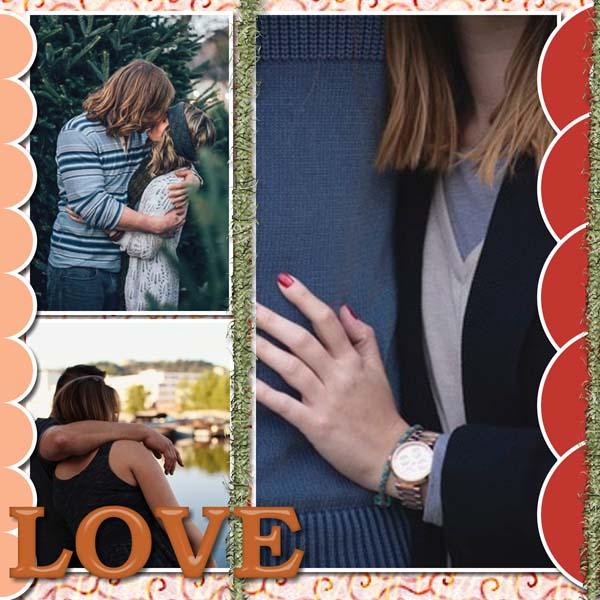 Warmth Love 12x12 PB-012